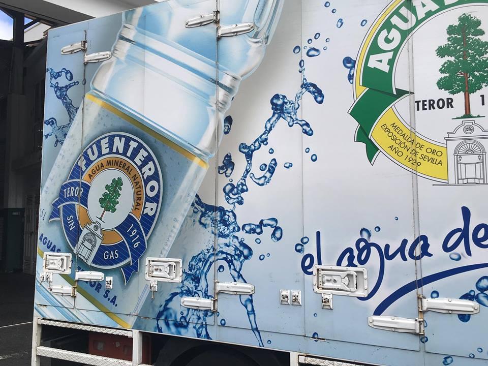 Camión de aguas de Teror