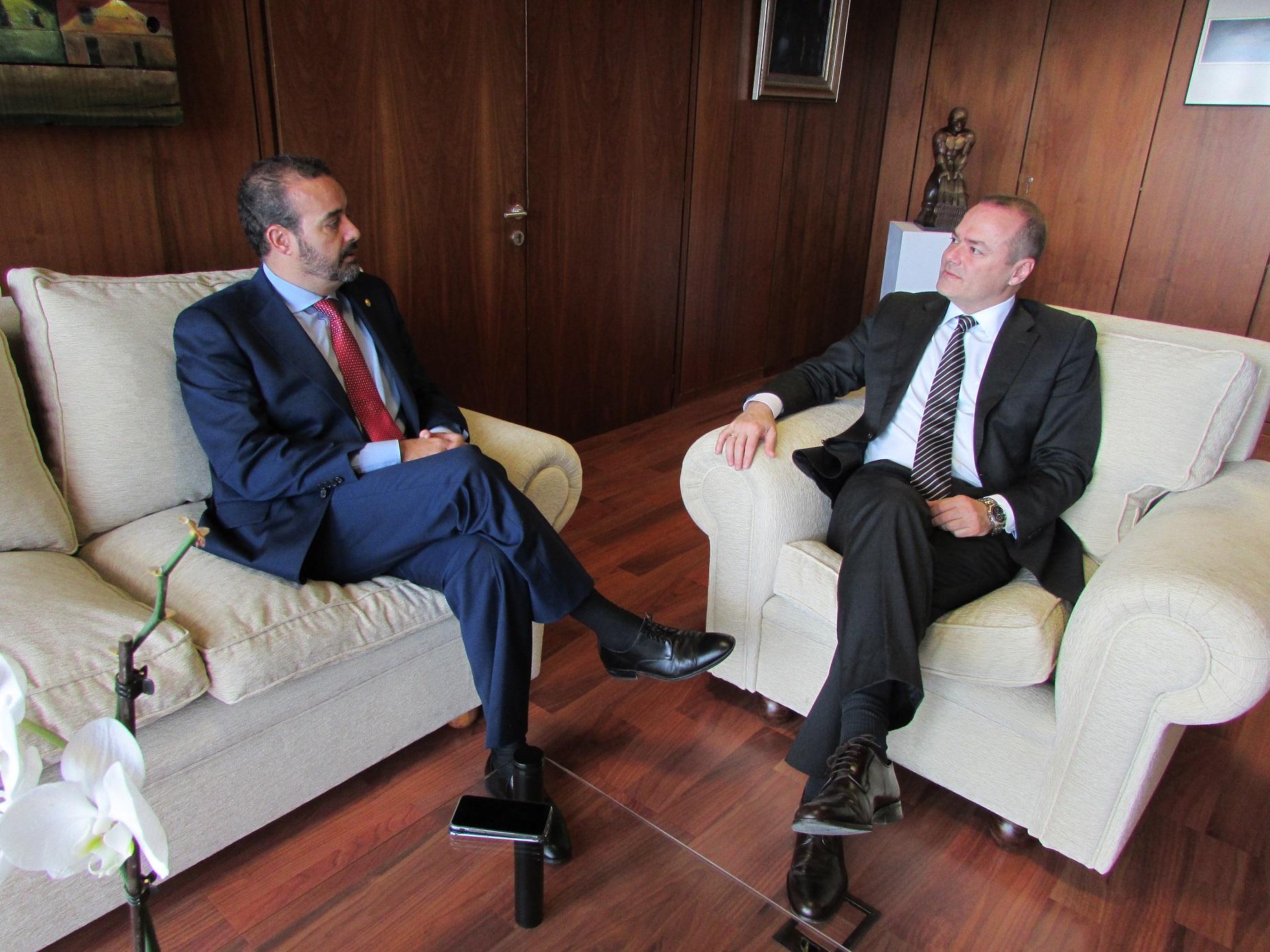 Augusto Hidalgo y Rafael Robaina