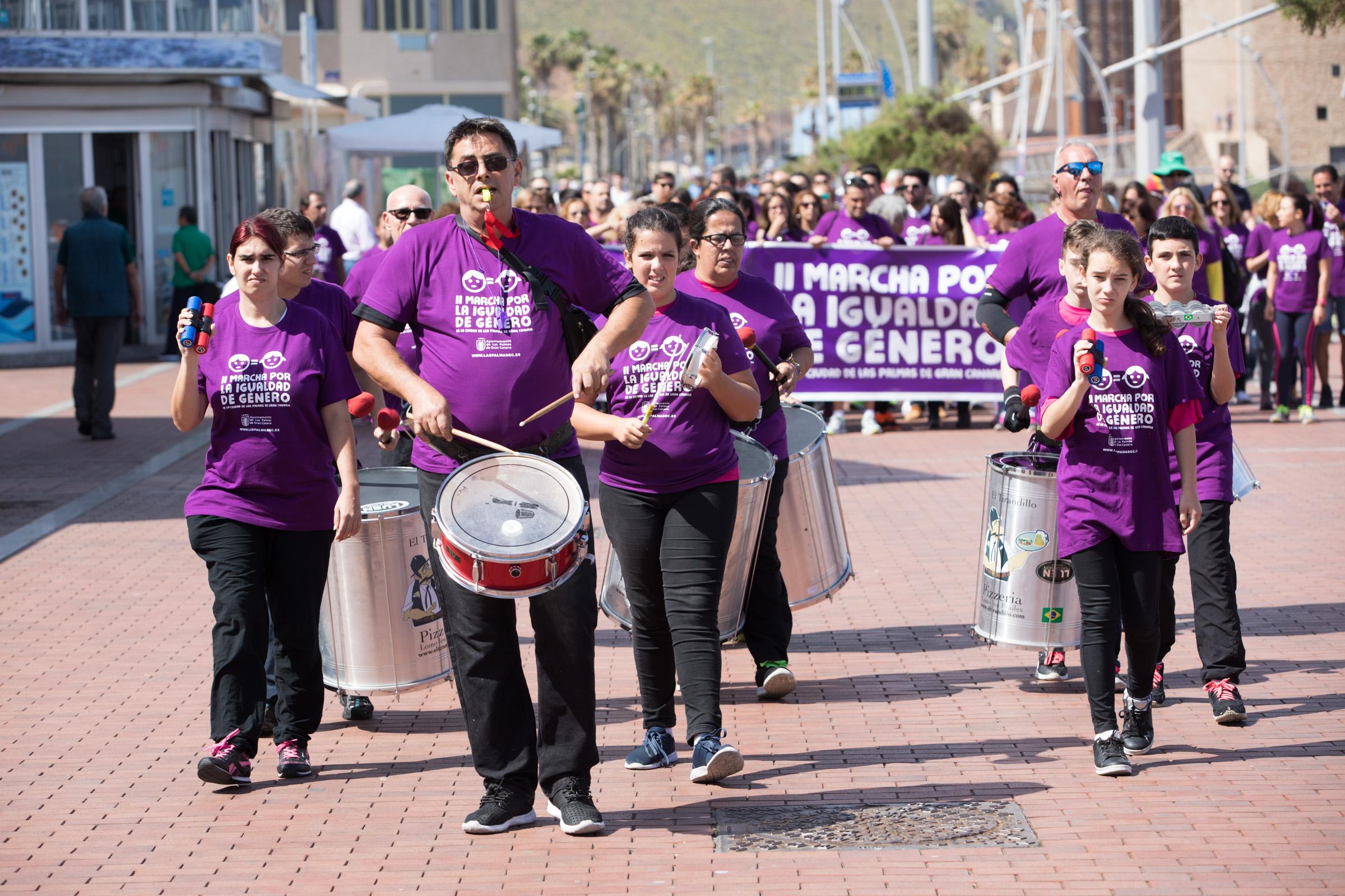 Marcha por la igualdad en Las Palmas de Gran Canaria