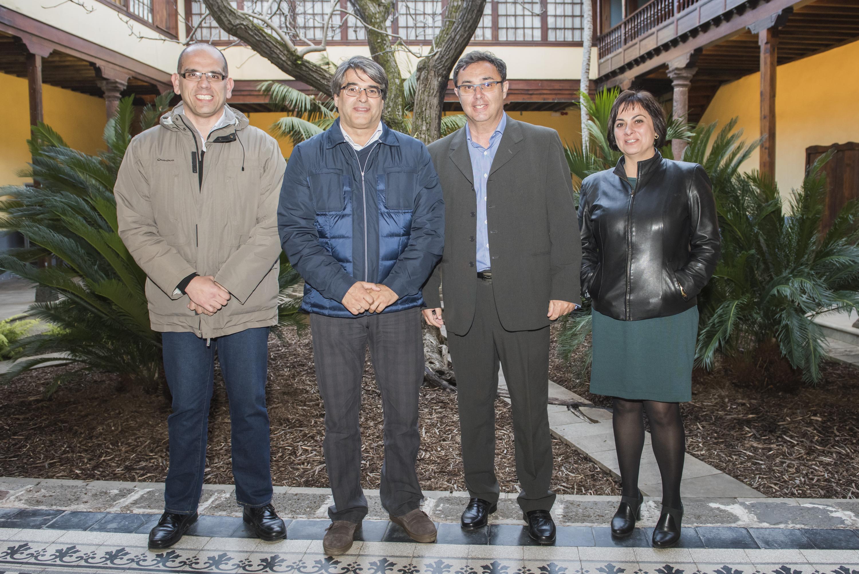 Reunión de la Federación de Lucha Canaria