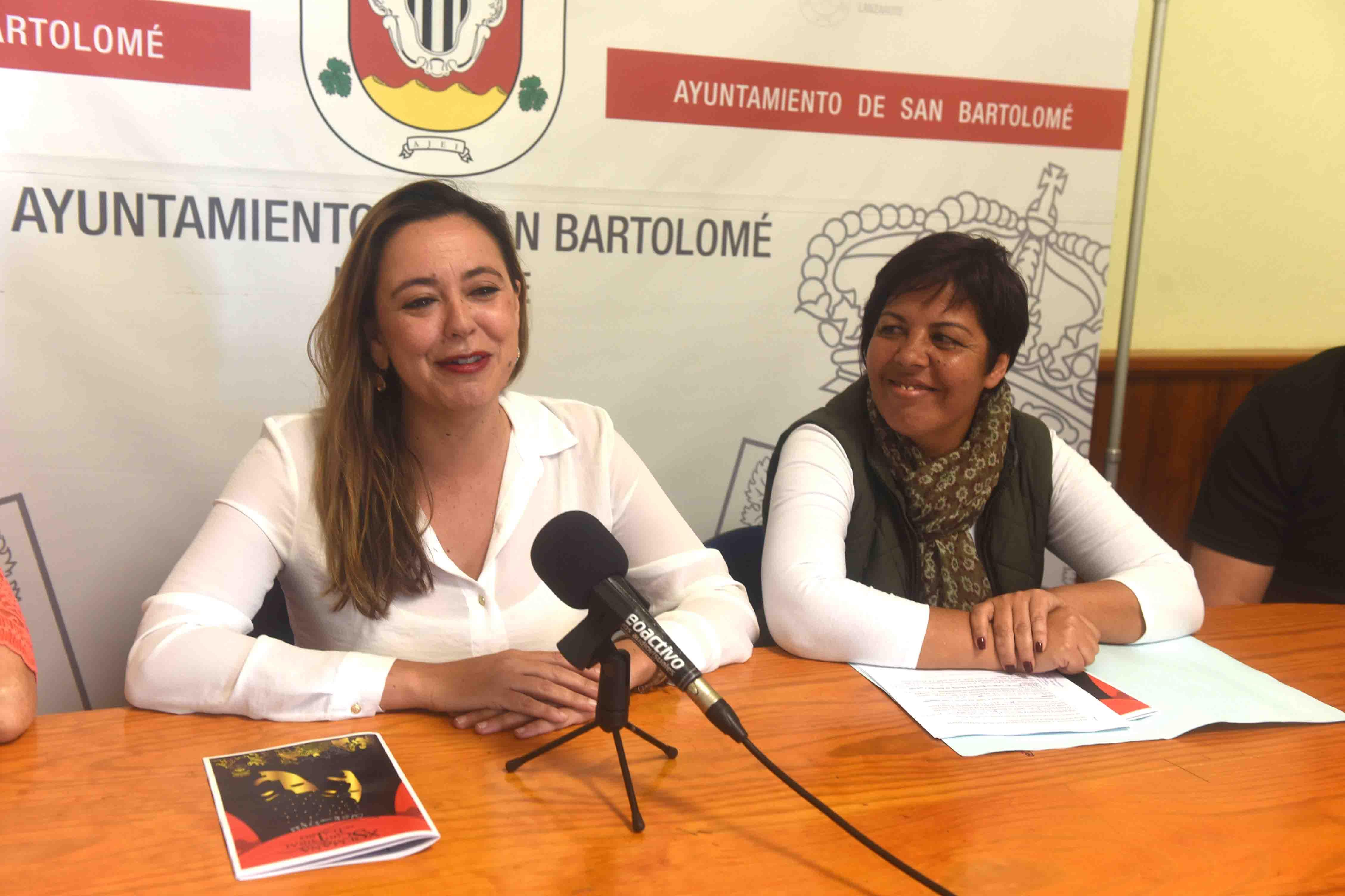 María Dolores Corujo presenta la Semana Cultural de San Bartolomé
