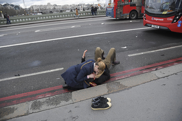 Heridos en el tiroteo en el Parlamento británico