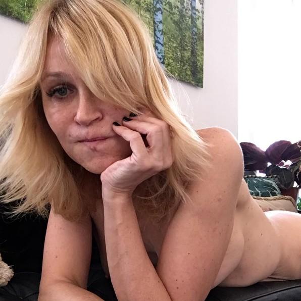 Antonia San Juan desnuda en una foto de Instagram