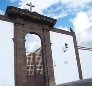 Fachada cementerio de Icod de los Vinos