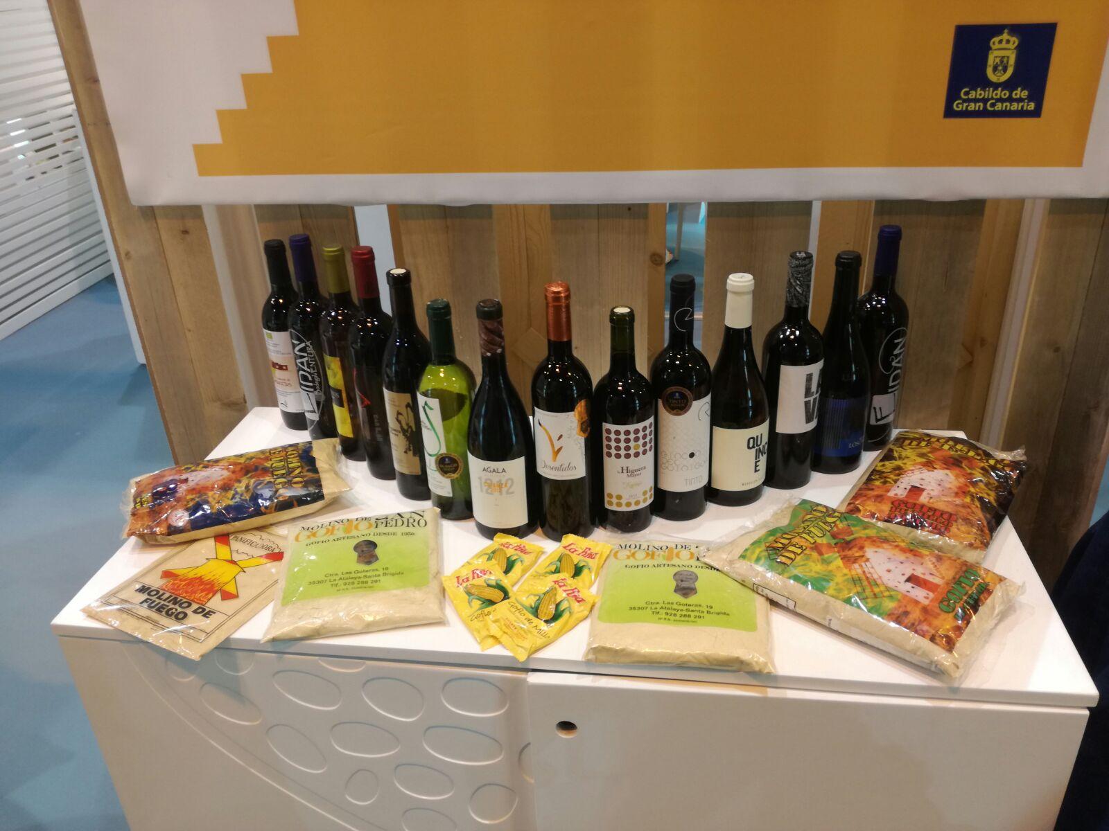 Stand de Gran Canaria en el Salón de Gourmets de Madrid