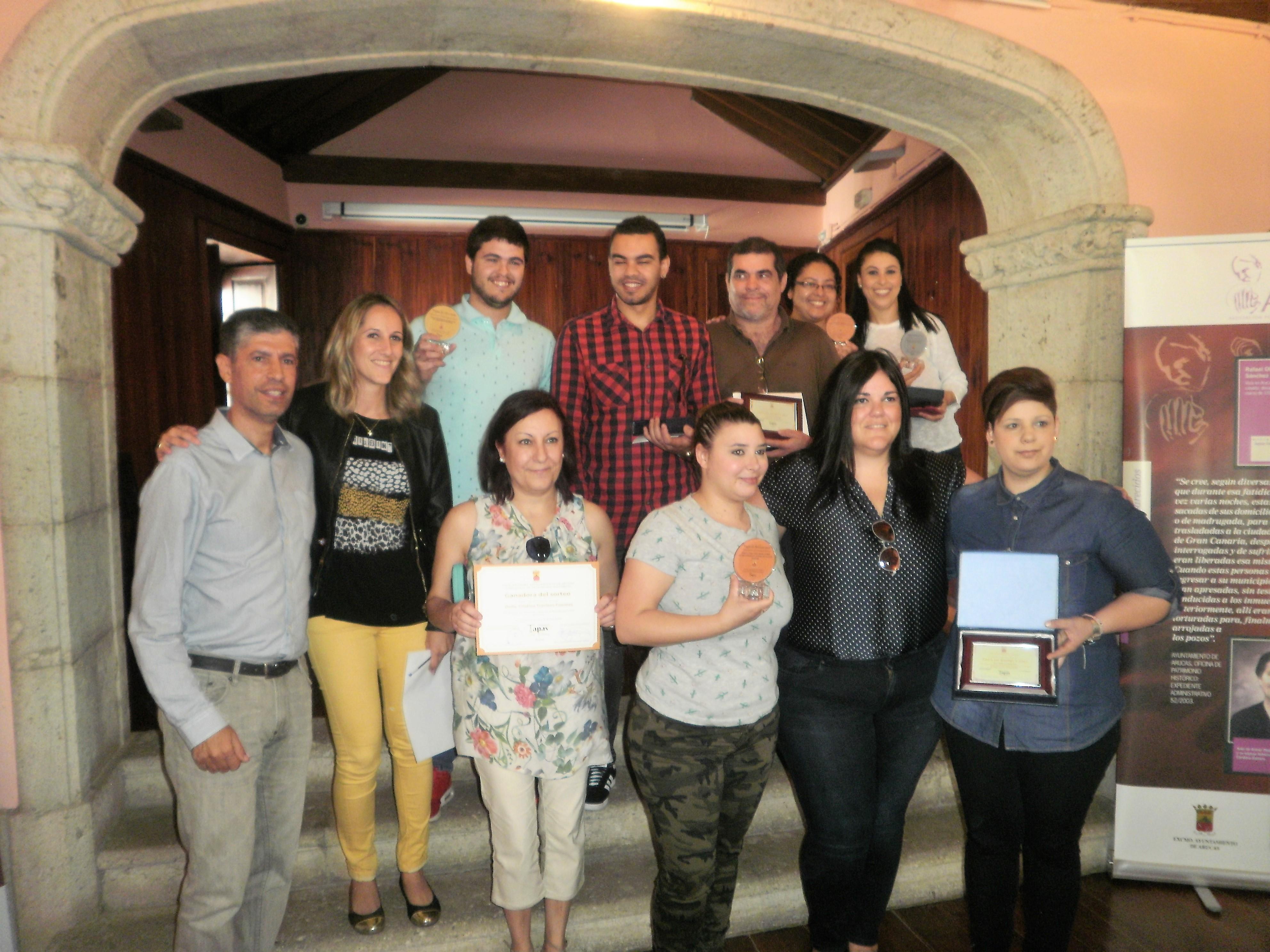 Premiados en el Concurso Gastronómico de Arucas