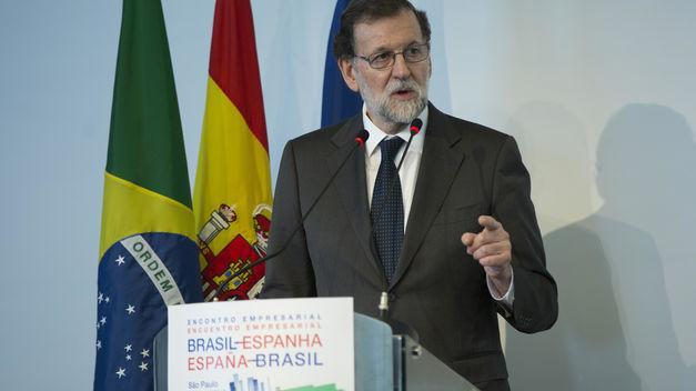 Mariano Rajoy en su visita oficial a Brasil