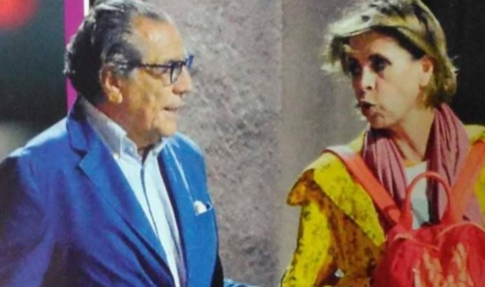 Ágatha Ruiz de la Prada y Juan Coullaut