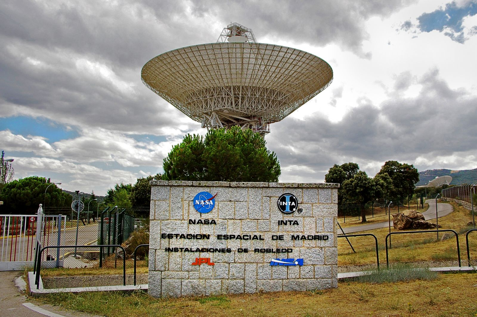 Estación de la NASA en Madrid