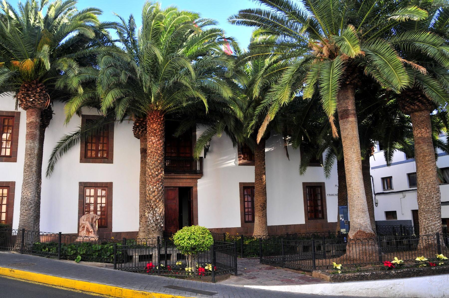 Fachada Ayuntamiento de Agaete