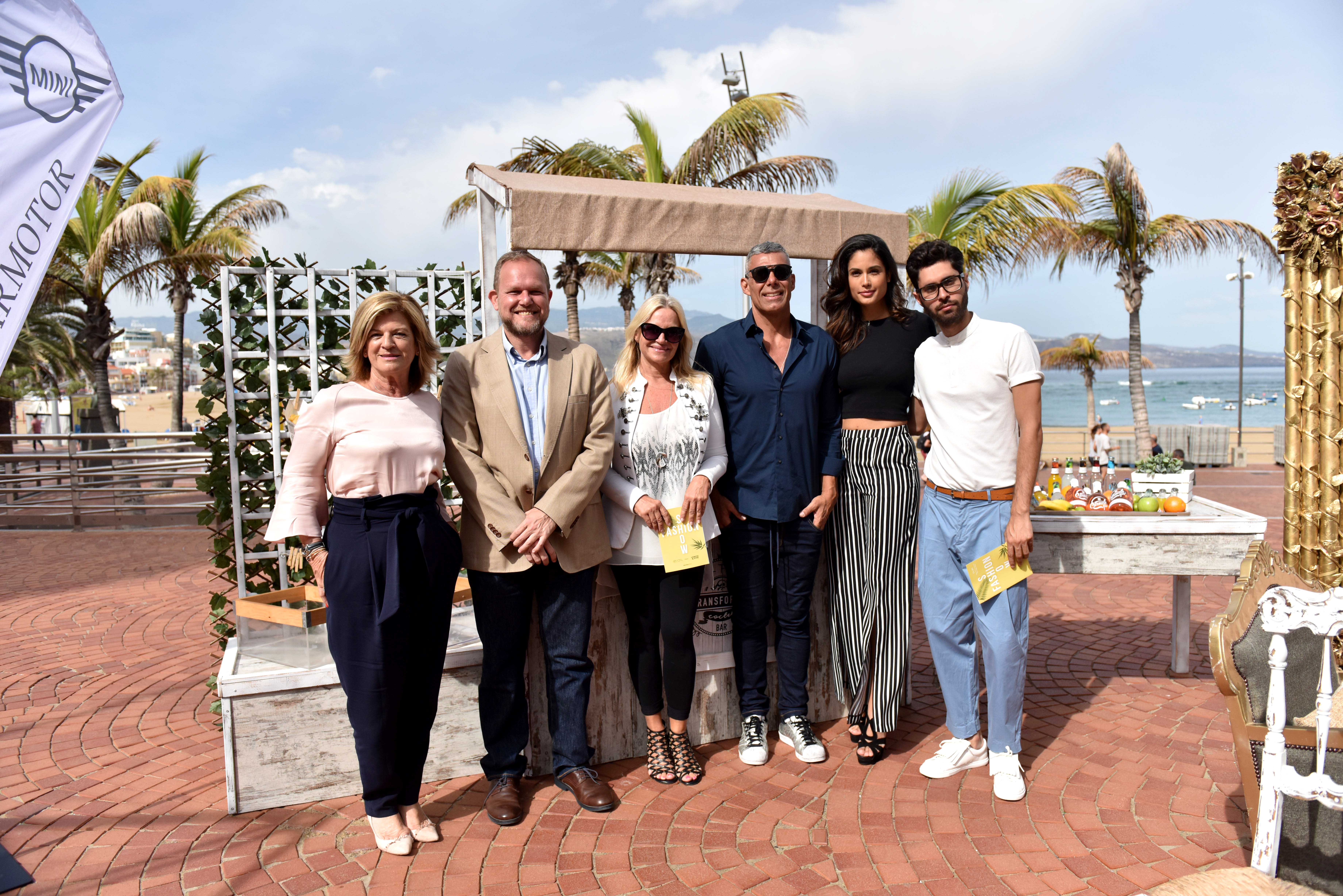 Presentación del desfile '+Q Moda Canarias tribute Lenita & XTG'