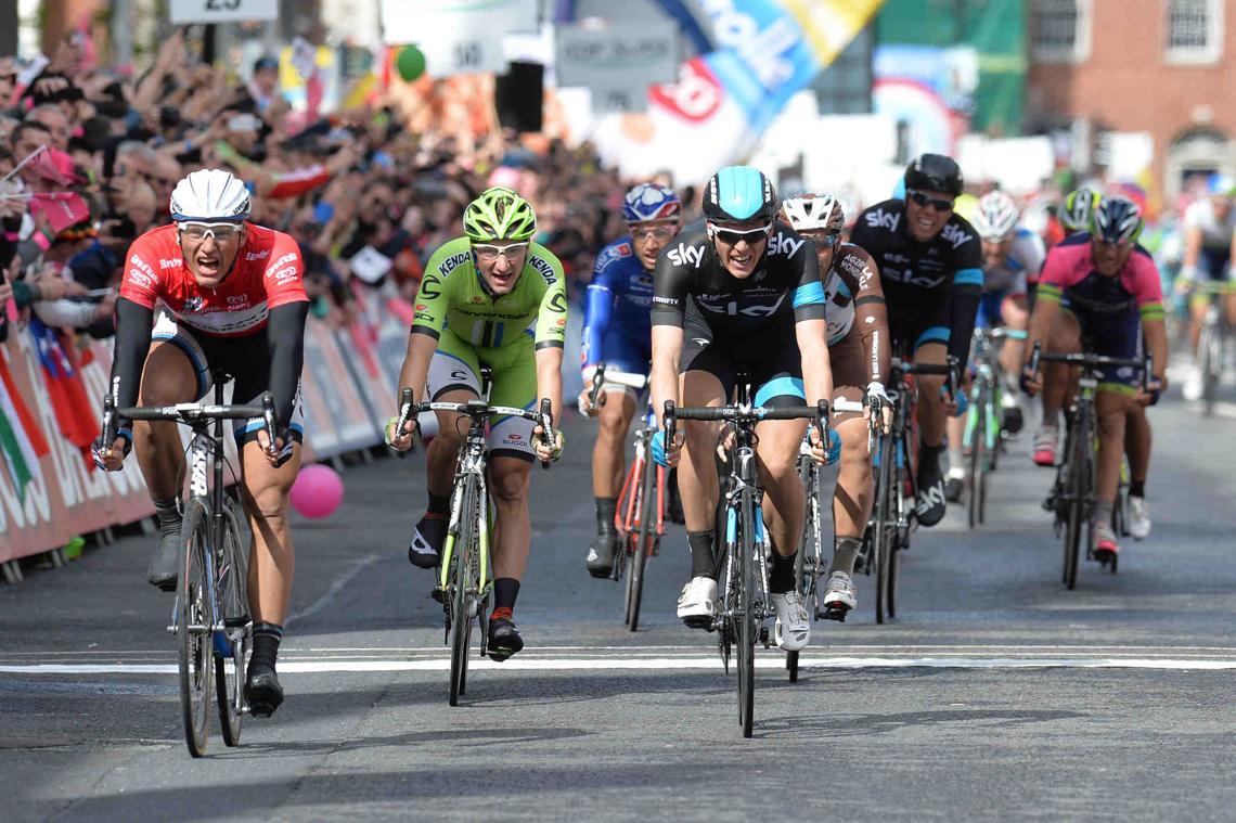 Ciclistas en el Giro de Italia
