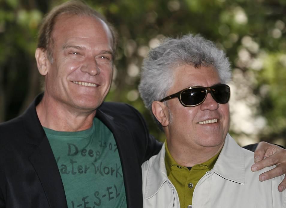 Lluís Homar y Pedro Almodóvar