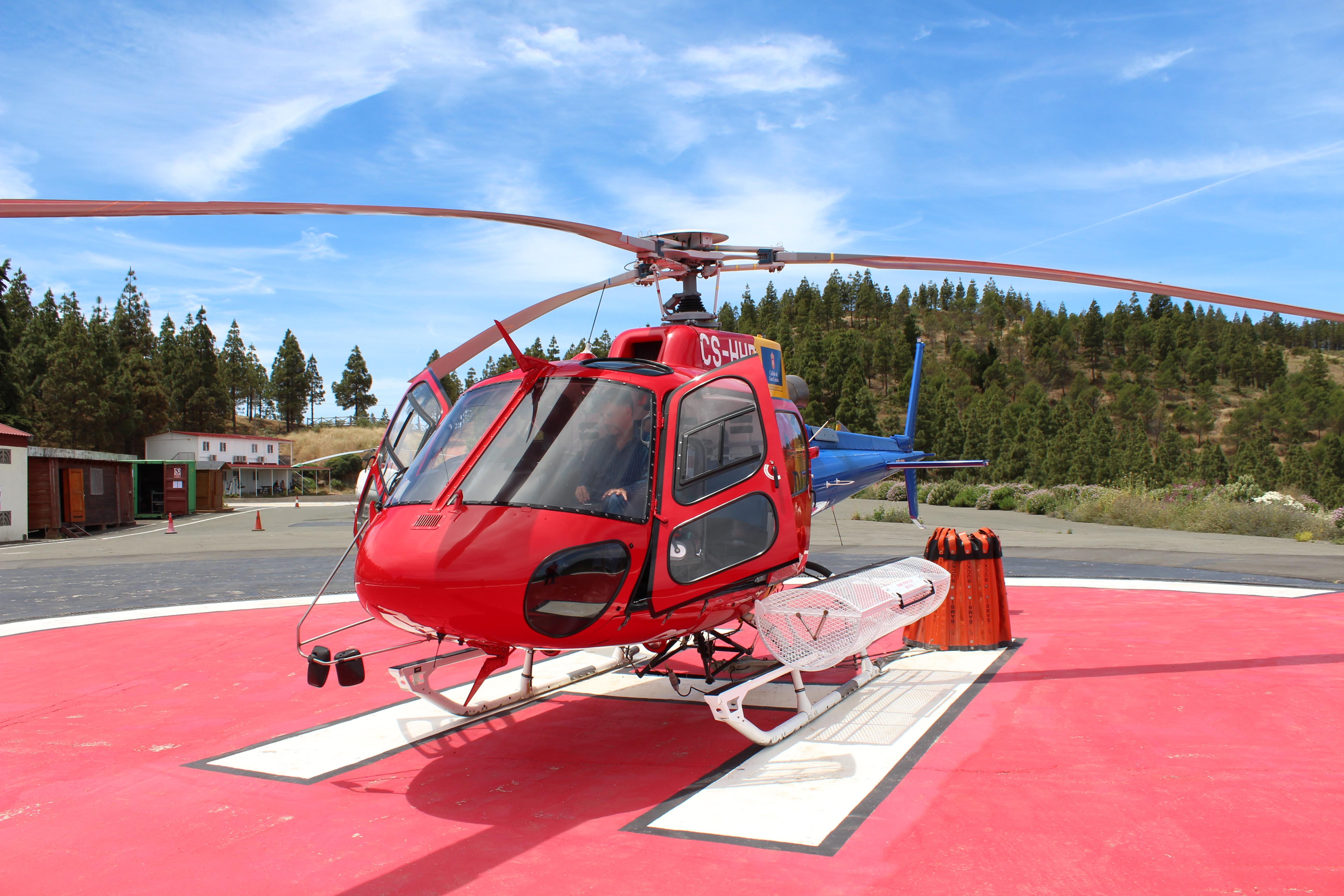 Helicóptero contra incendios