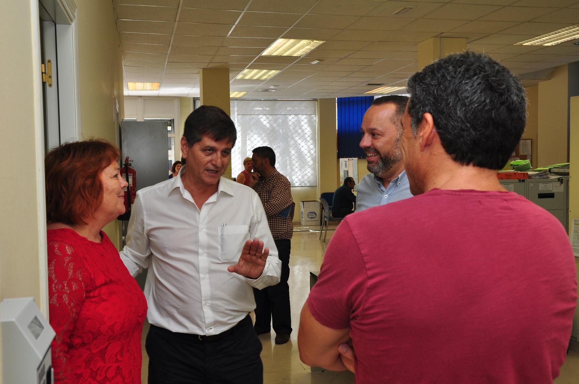 Jacinto Ortega y la Comisión de Inclusión Social