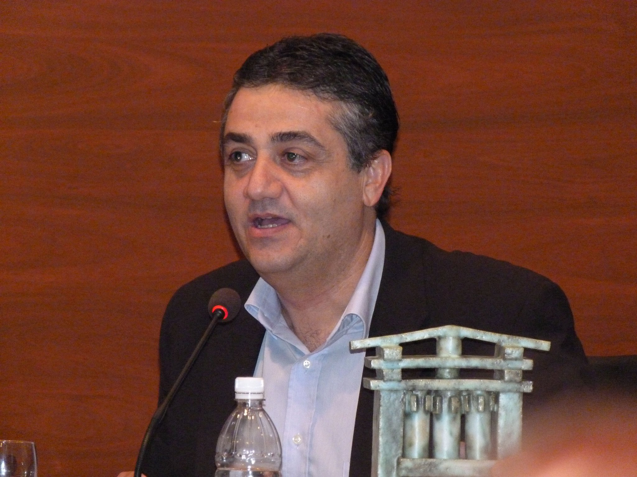 El alcalde de Ingenio, Juan Díaz Sánchez