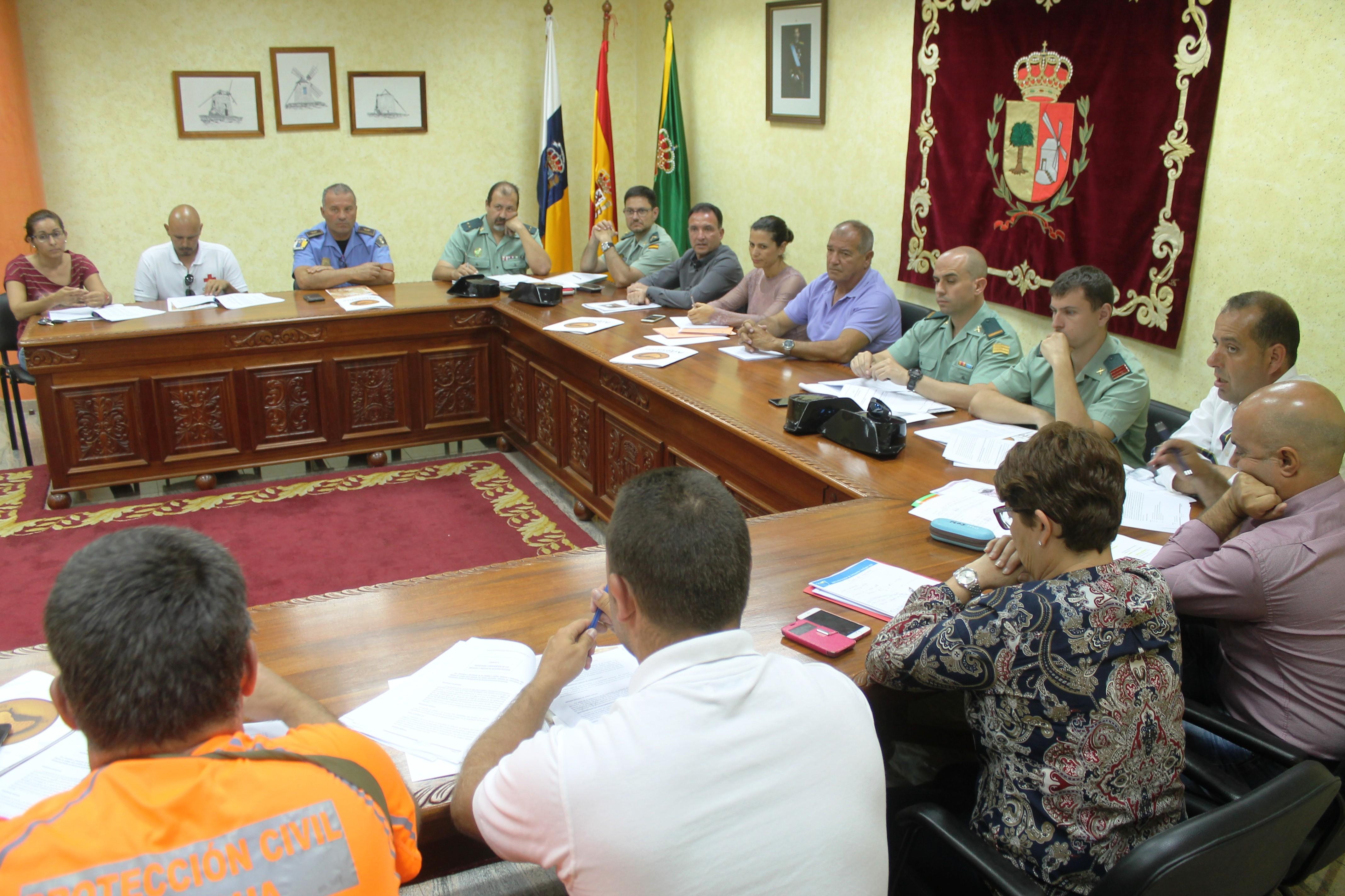 Junta de Seguridad de la Feria Insular de Artesanía de Antigua