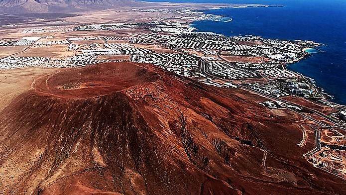 Montaña Roja de Lanzarote