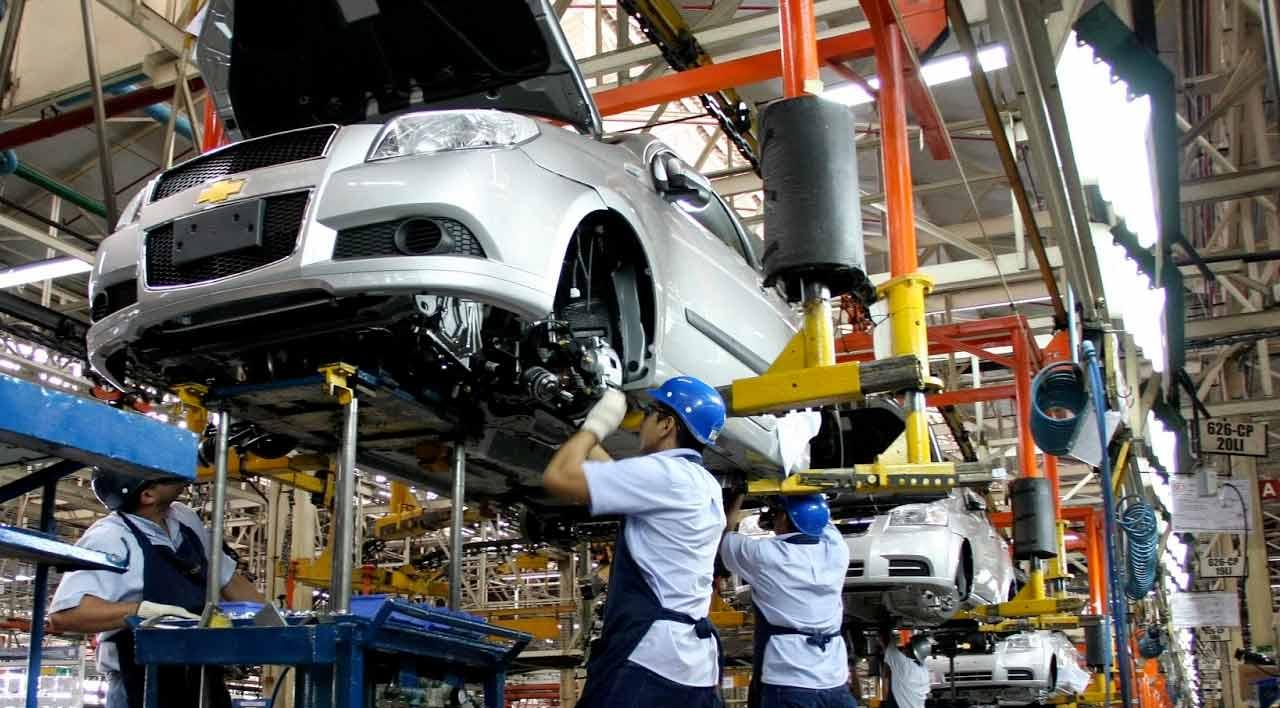Fábrica de producción de vehiculos