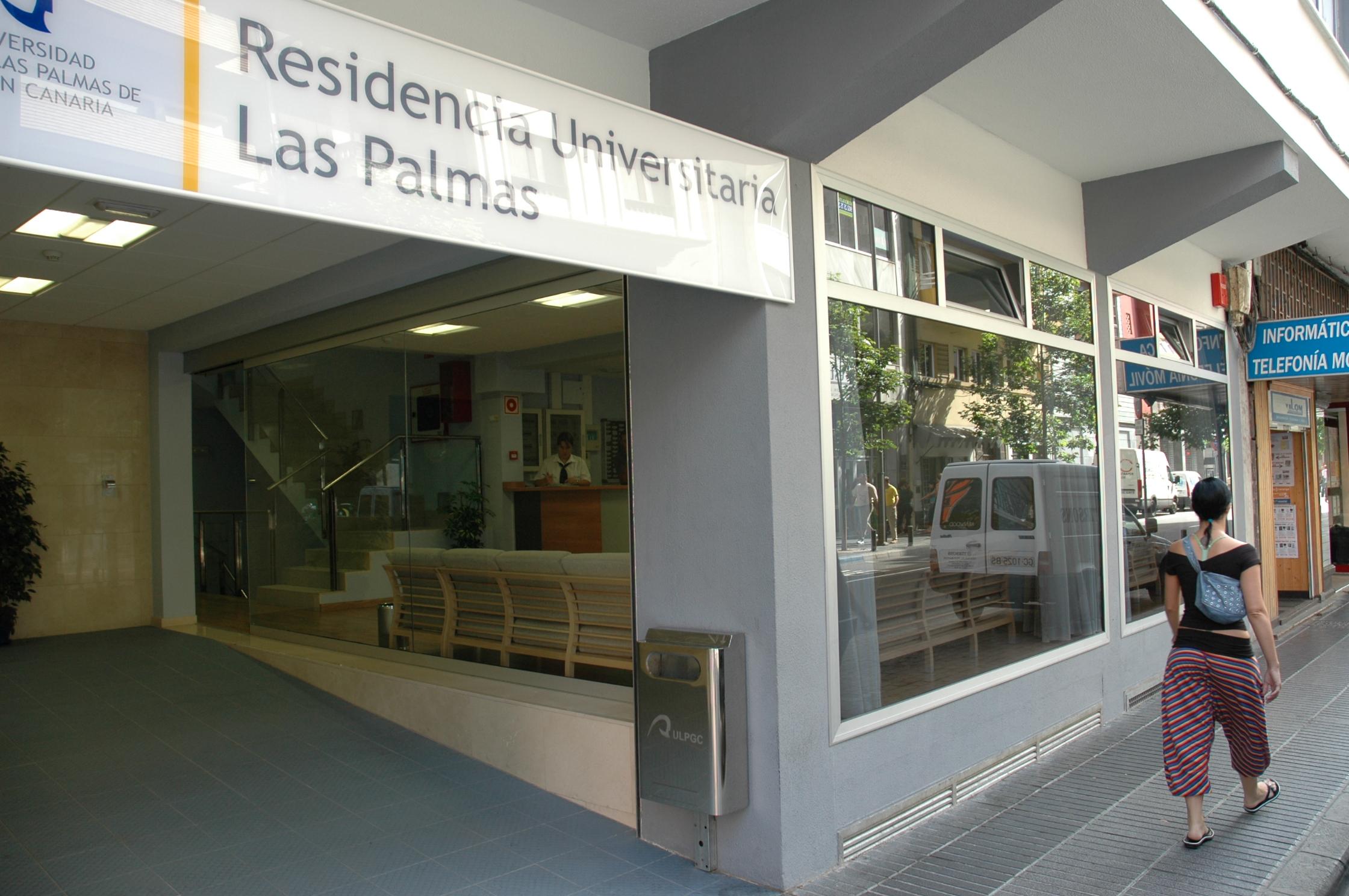 Residencia universitaria León y Castillo