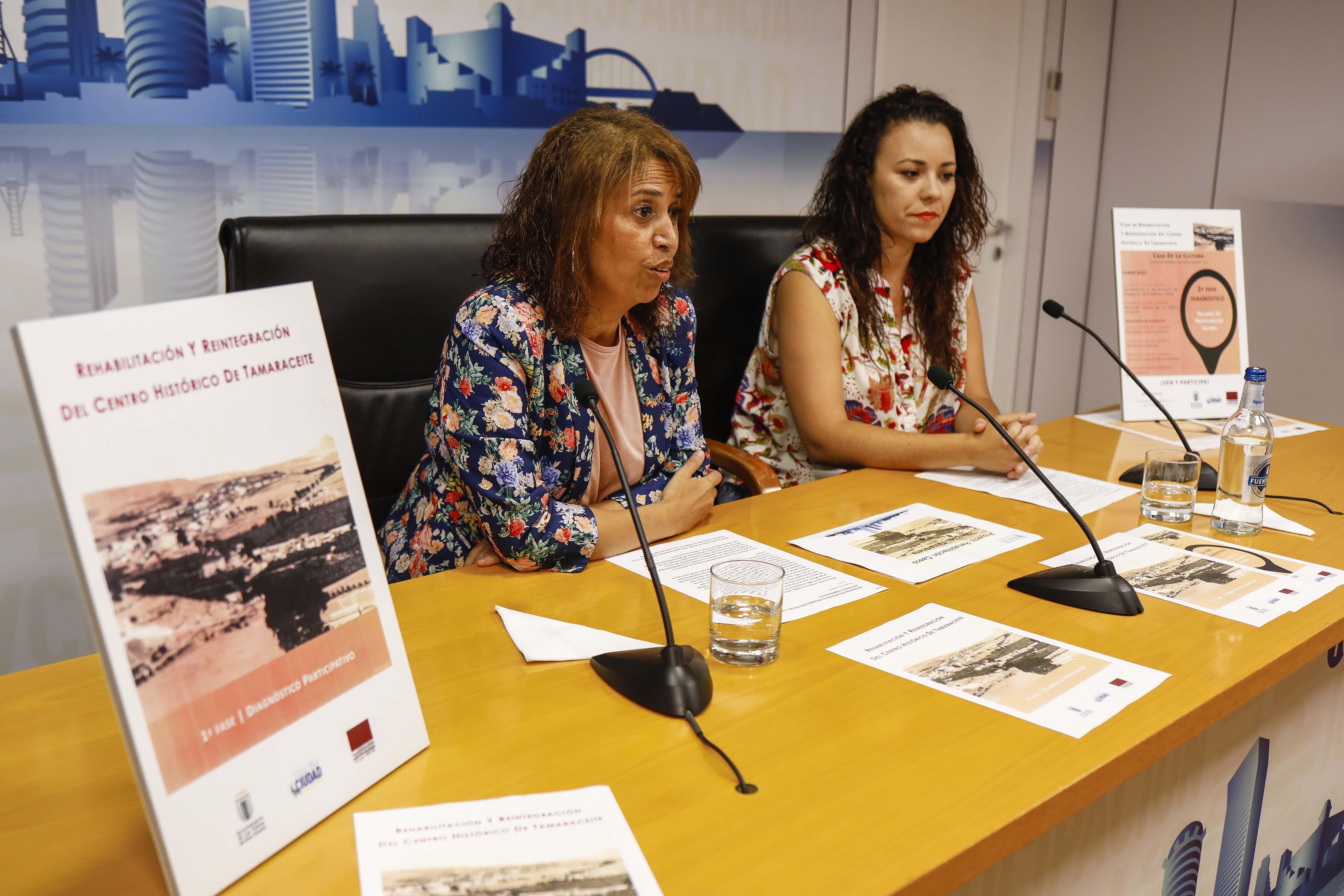 Mercedes Sanz e Ihaisa Chávez