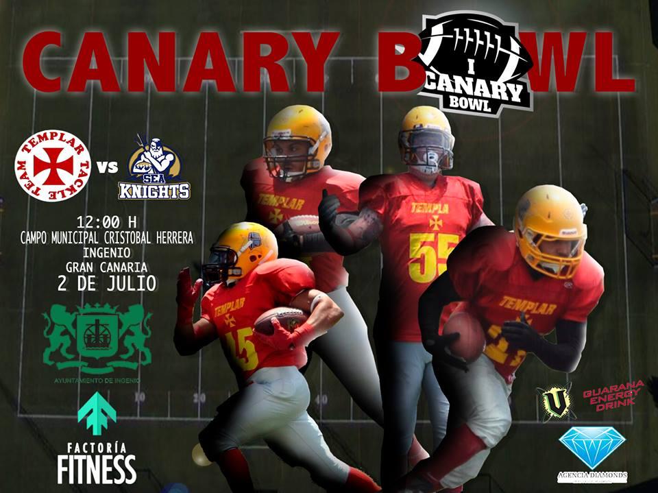 Cartel de la I Canary Bowl
