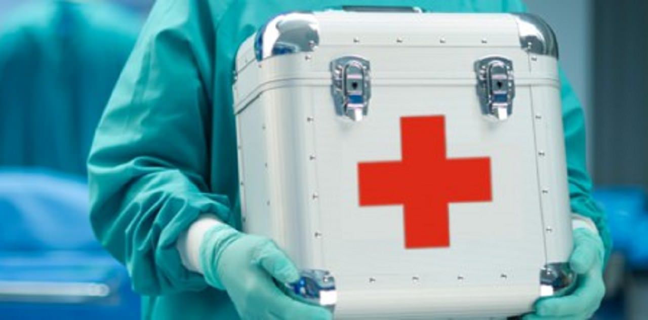 Maletín de trasplante de órganos