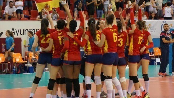 Jugadoras de España de Voleibol,