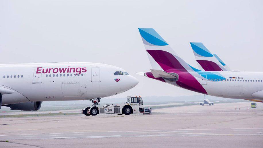 Avión de Eurowings