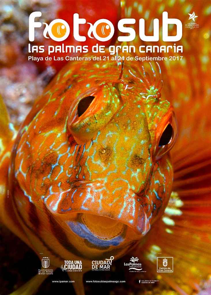 Cartel de Fotosub Las Palmas de Gran Canaria 2017
