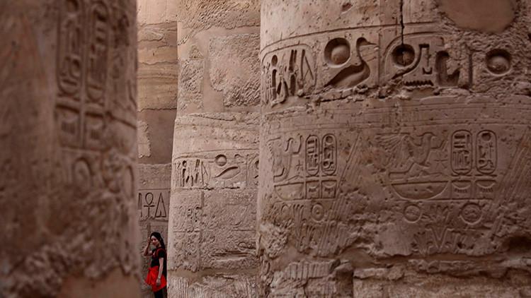 Columnas con jeroglígicos