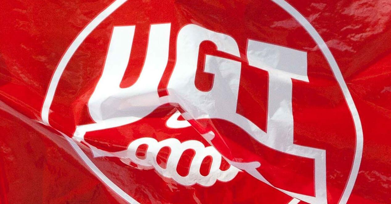 Bandera de UGT