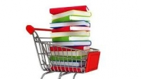 Un carrito de la compra con libros