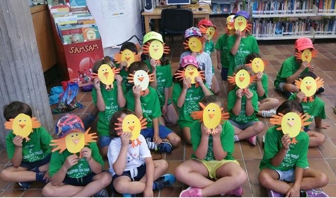 Niños en la biblioteca de El Paso