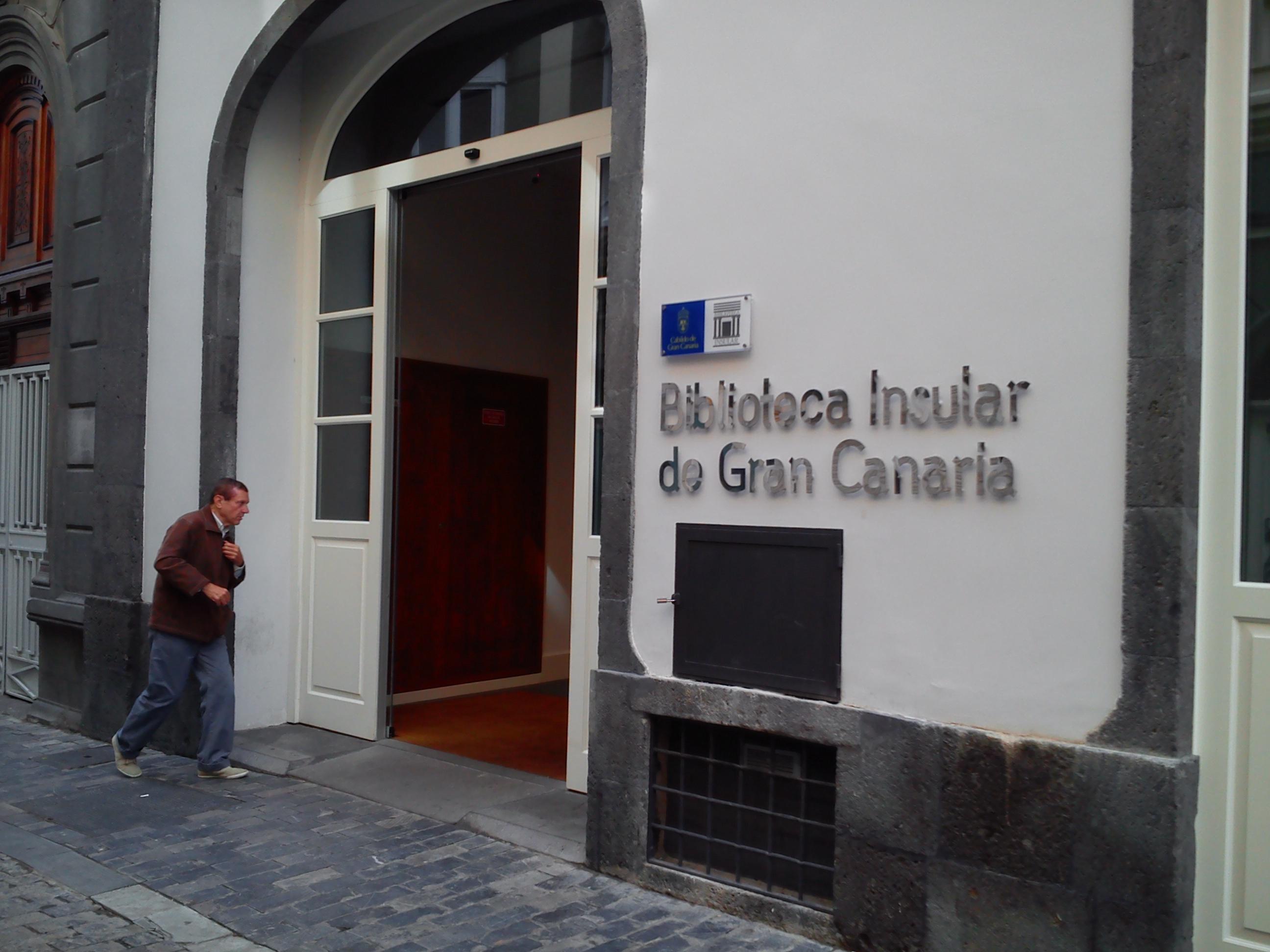 La Biblioteca Insular de Gran Canaria convoca el concurso 'Víspera de Versos'