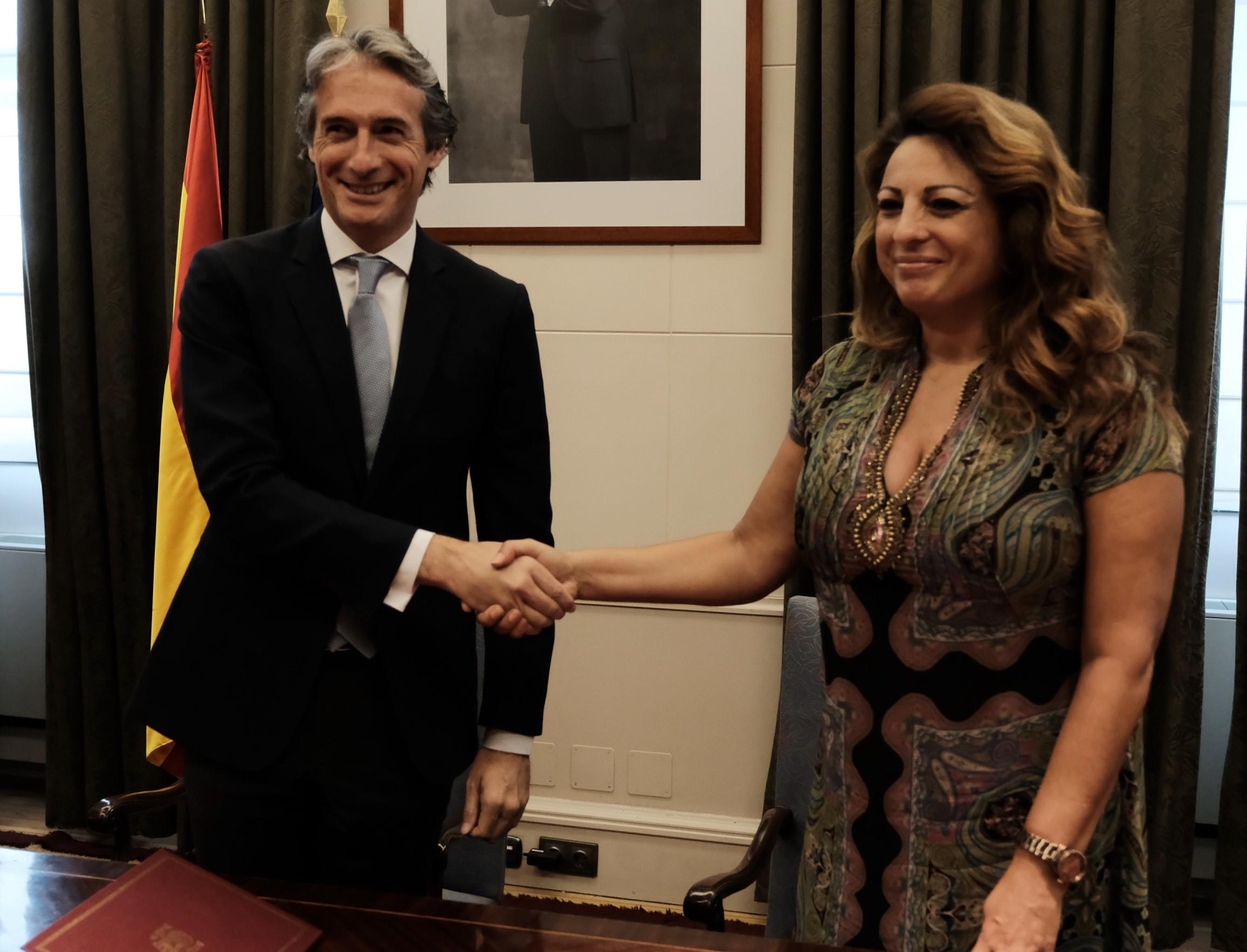 Íñigo de la Serna y Cristina Valido