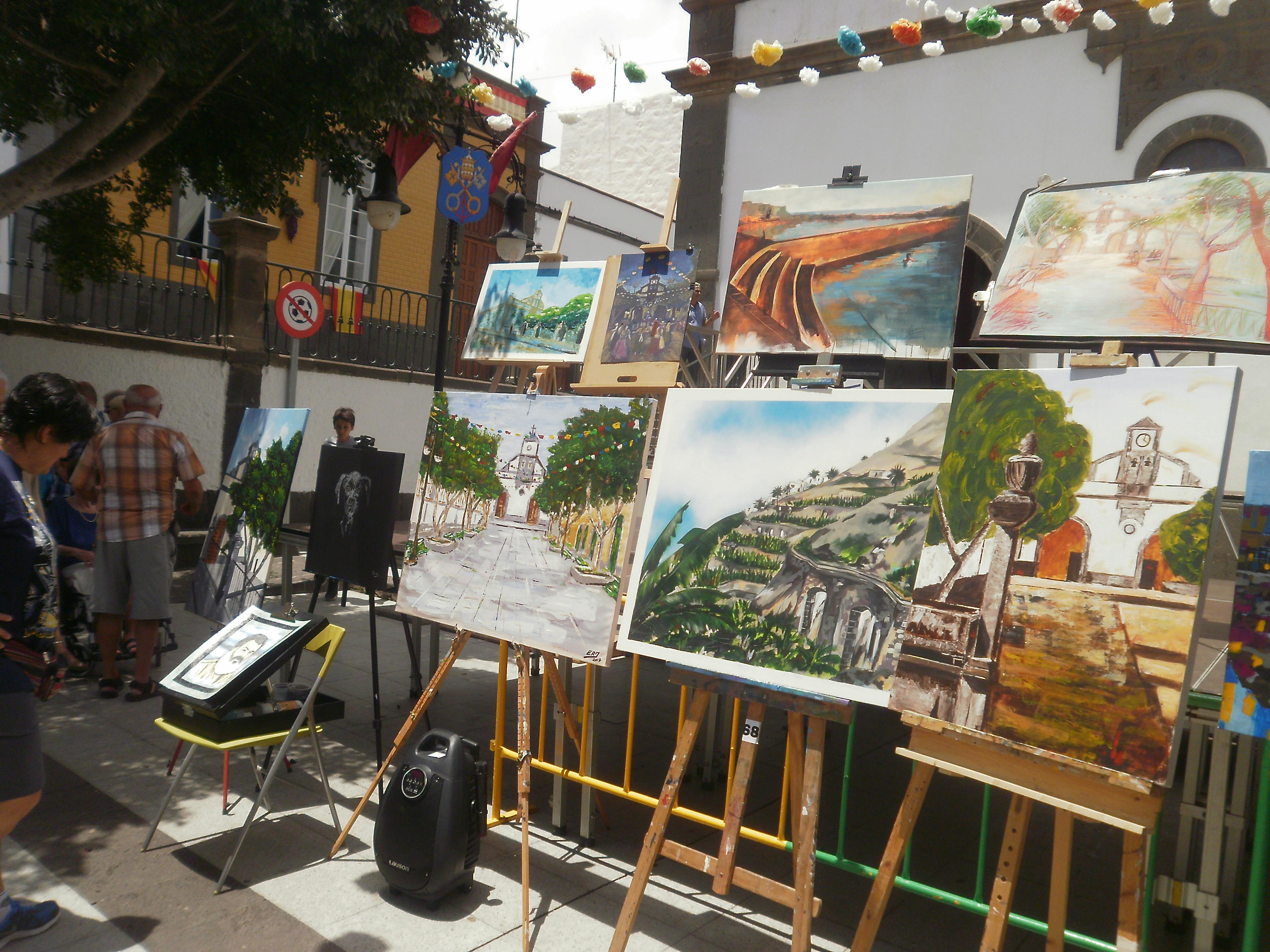Resultado de imagen de El Sauzal convoca su II Concurso de Pintura Rápida al Aire Libre