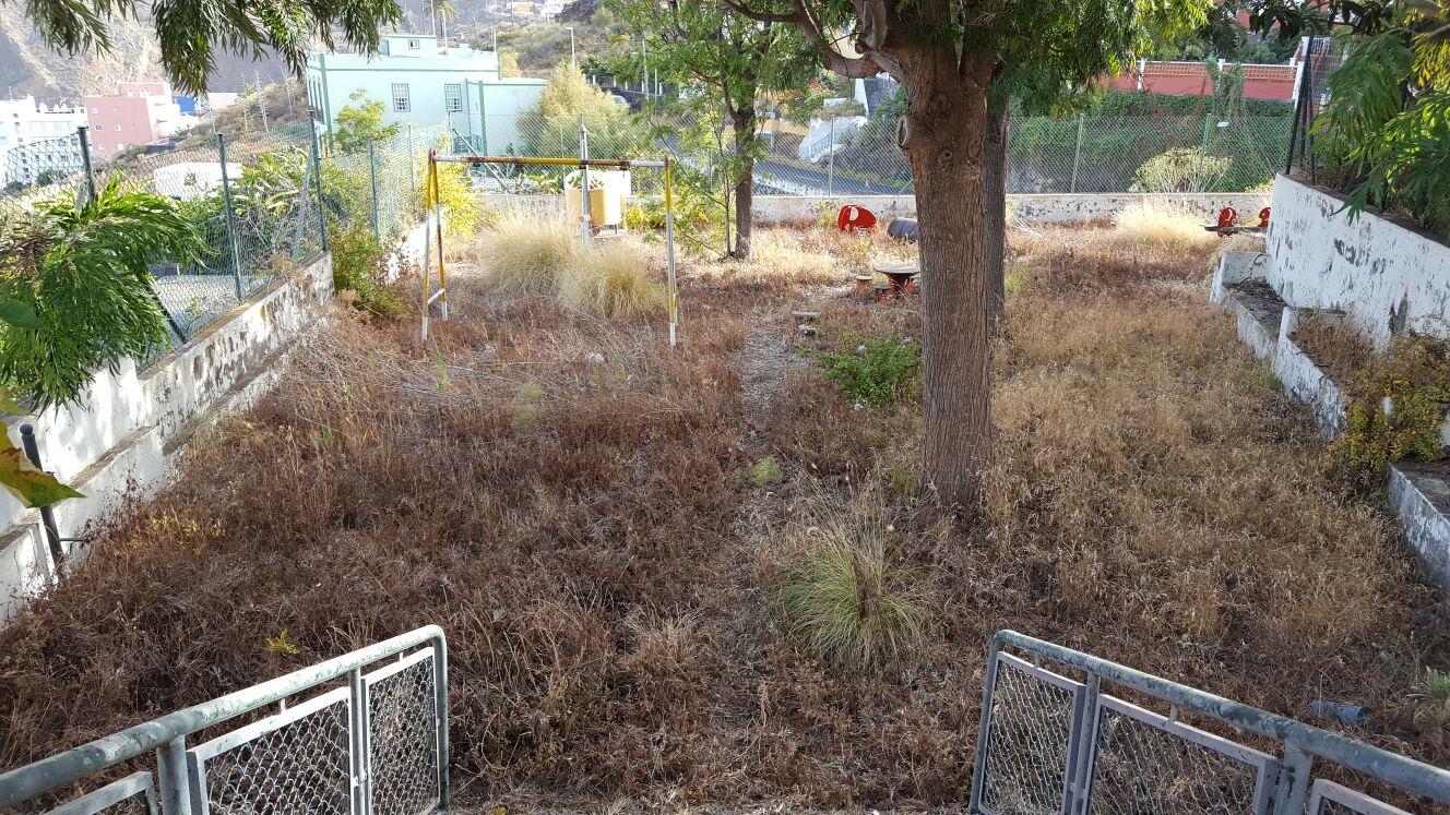 Parque infantil las Calcinas en Santa Cruz de La Palma