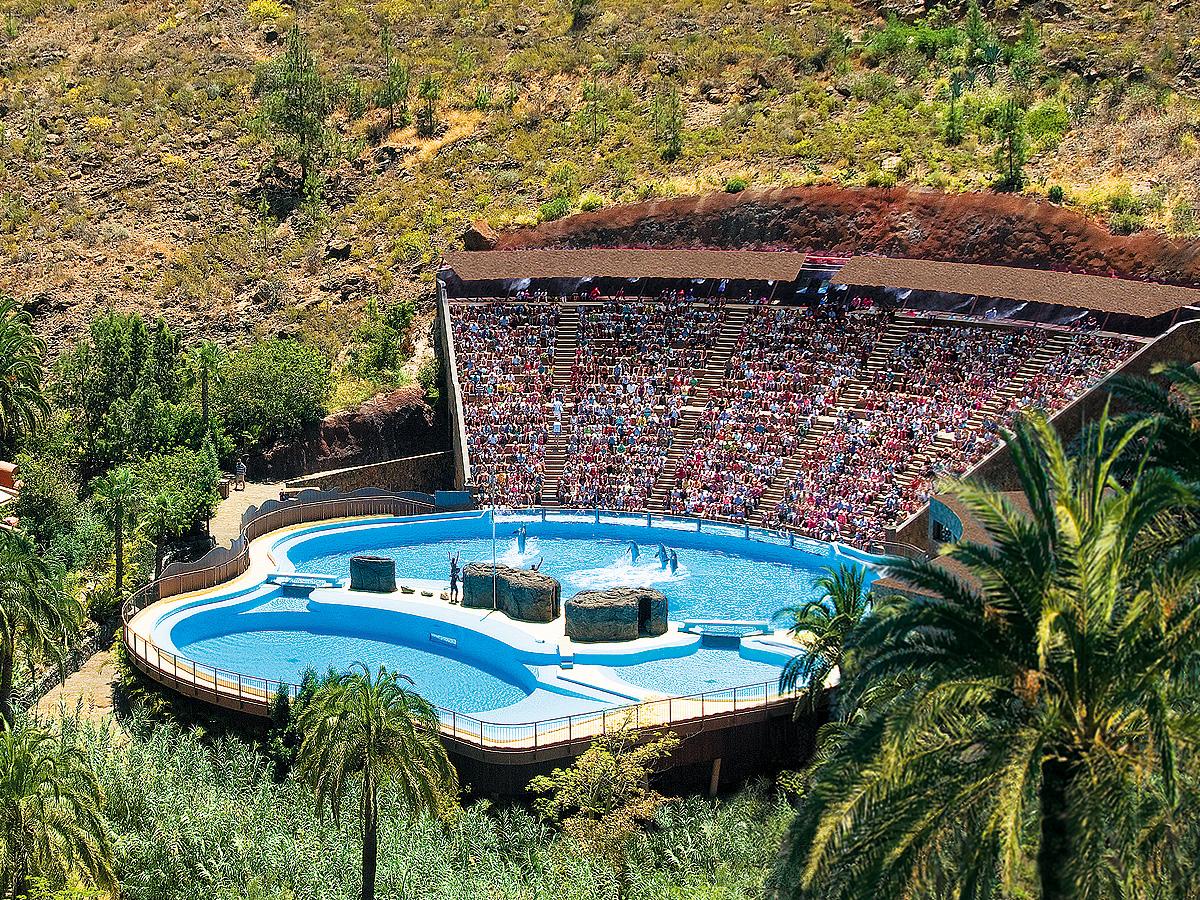 Delfinario de Palmitos Park