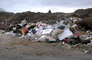 Residuos en espacio natural