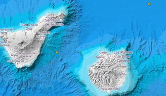 Mapa de Tenerife y Gran Canaria