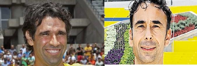 Juan Carlos Valerón y Paquito Ortiz