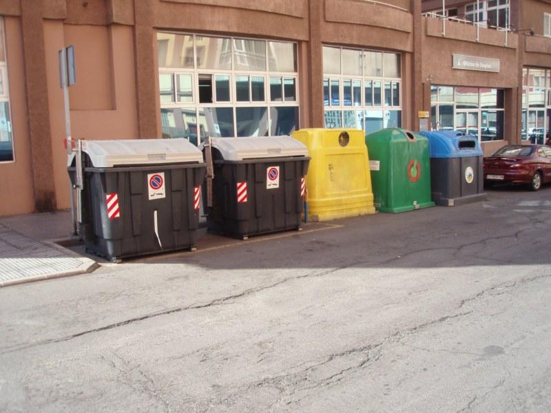 Contenedores de basura de Las Palmas de Gran Canaria