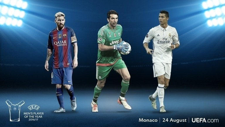 Ronaldo, Messi y Buffon
