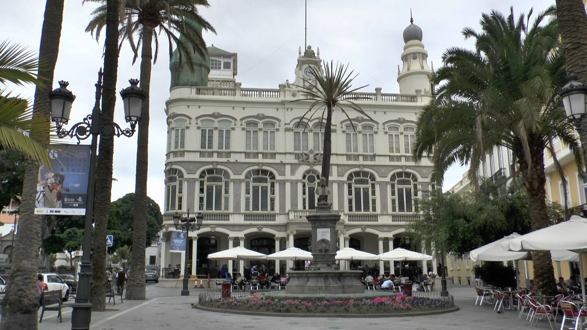 Fachada del Gabinete Literario de Las Palmas de Gran Canaria