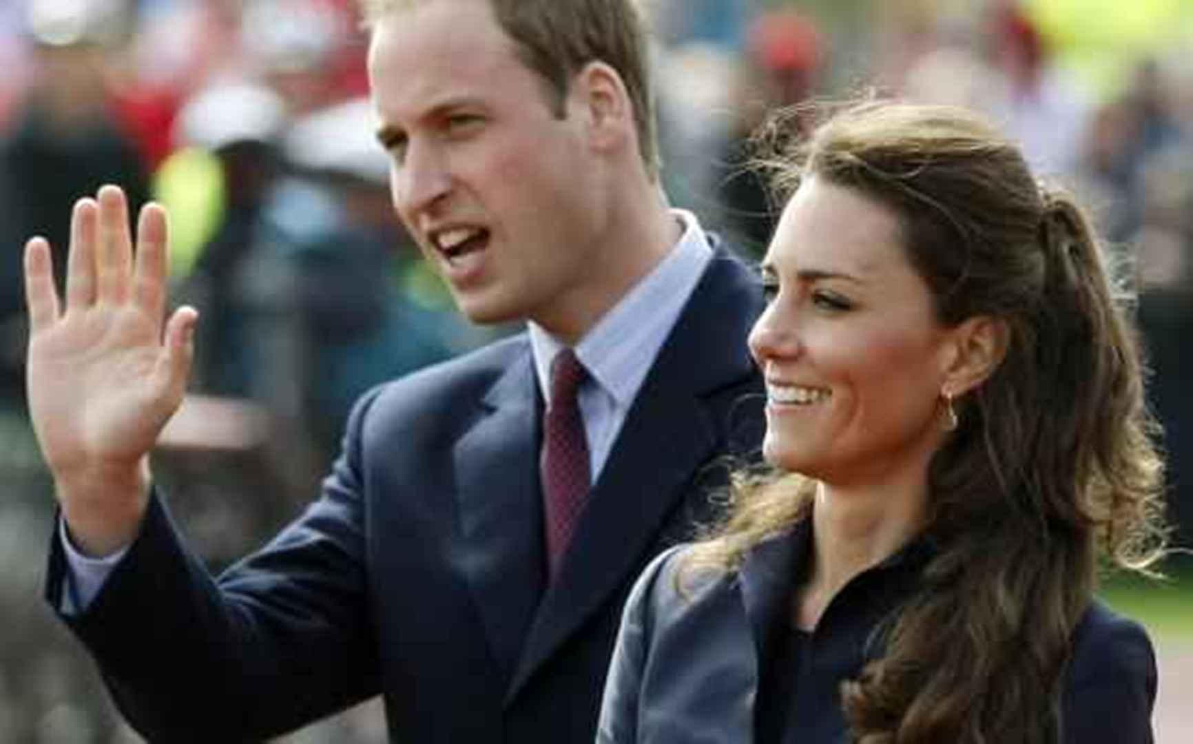 El príncipe Guillermo y Catalina de Cambridge
