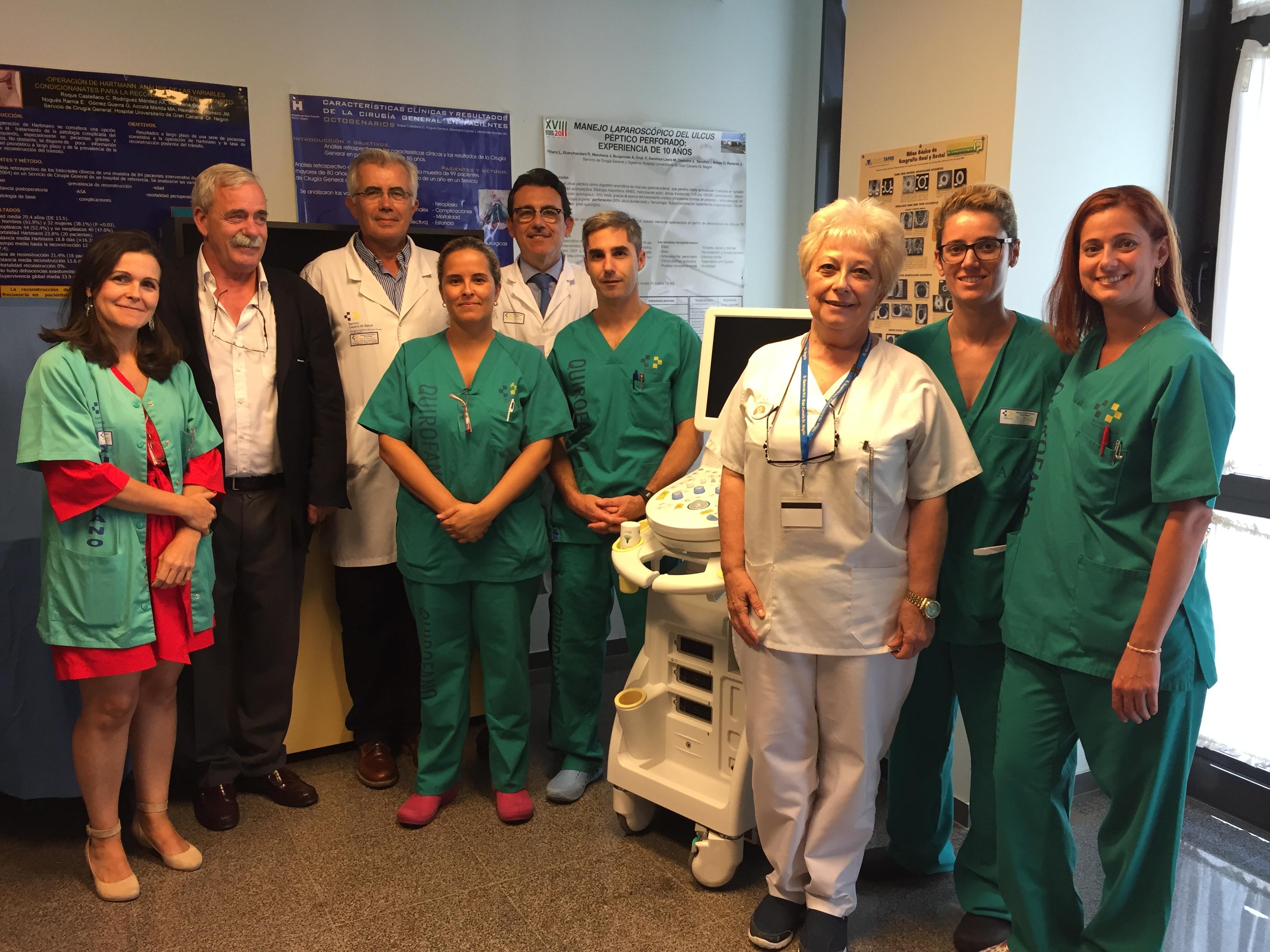 El Hospital Dr. Negrín, acreditada al cumplir con los estándares de calidad nacionales