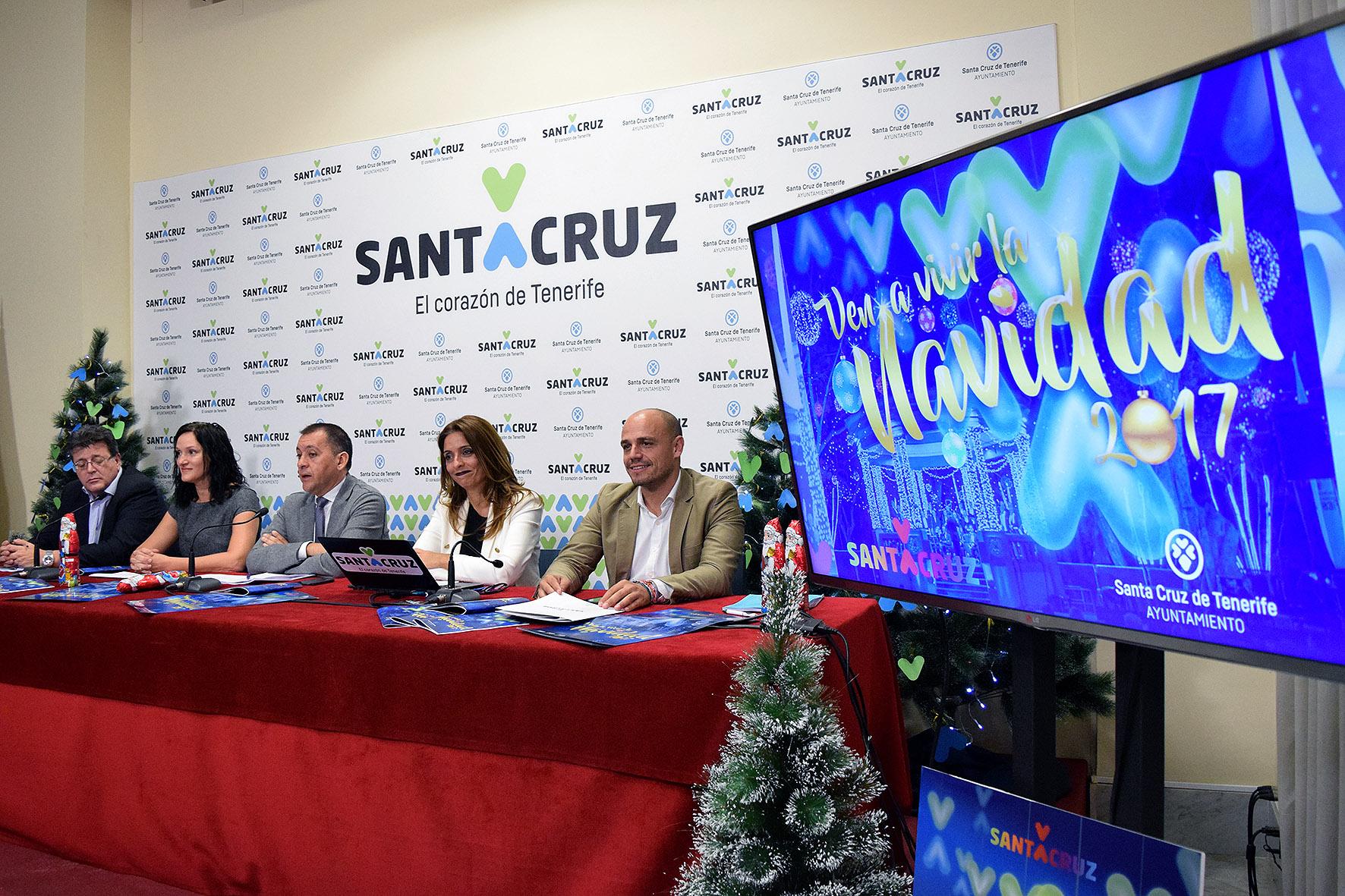 Santa Cruz de Tenerife despliega un amplio programa de Navidad