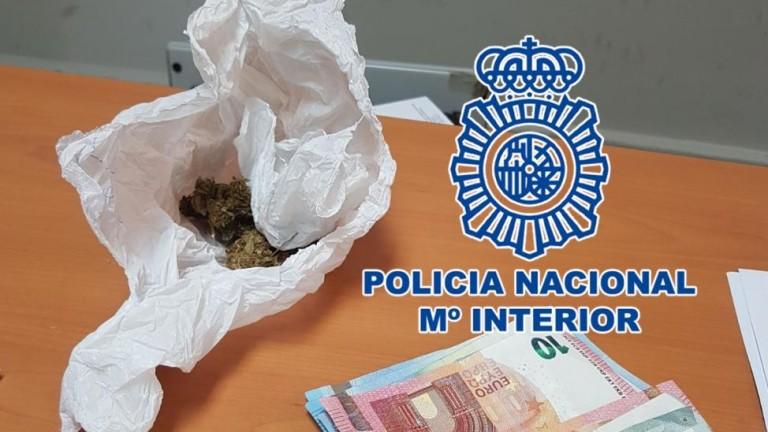 Detenido por vender marihuana cerca de un colegio en Tenerife