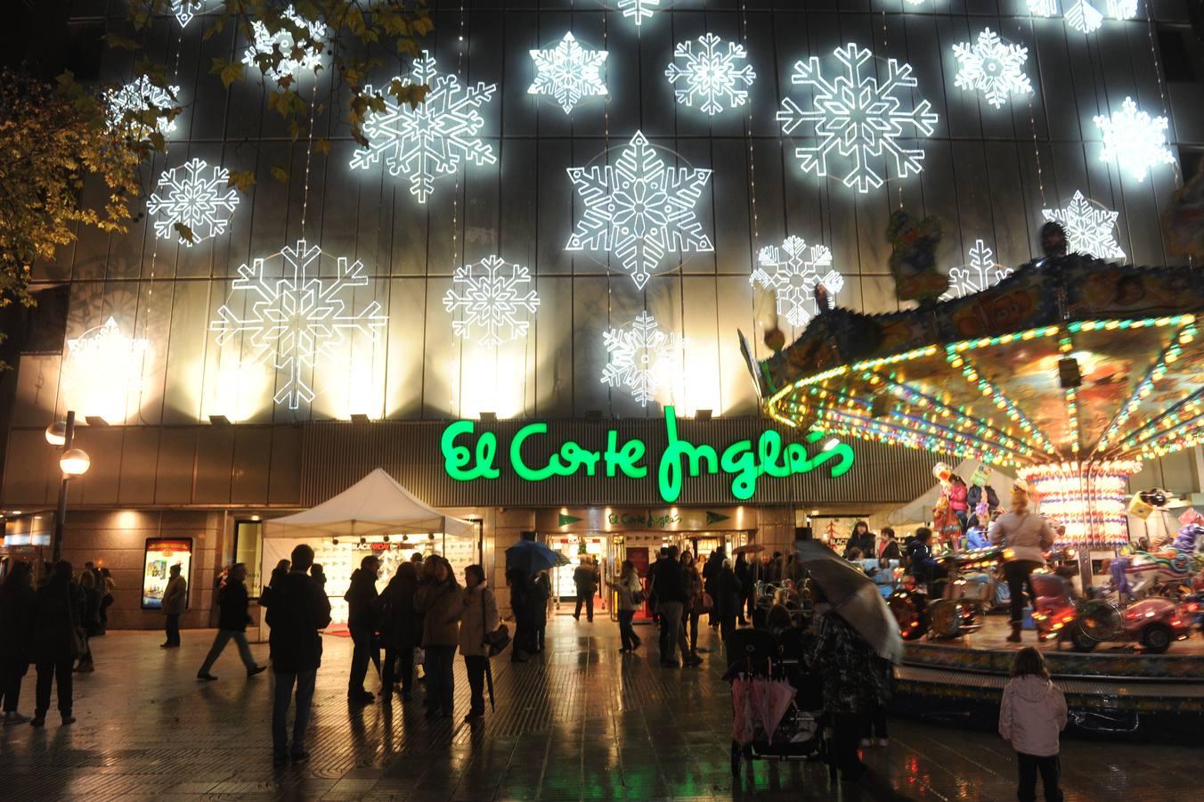 El corte ingl s contratar a personas para la campa a de navidad canarias noticias - Iluminacion vitoria ...